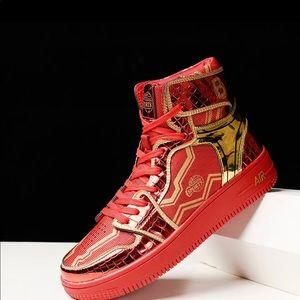 High Top Esport's Fashion Spider-Man Design Shoes
